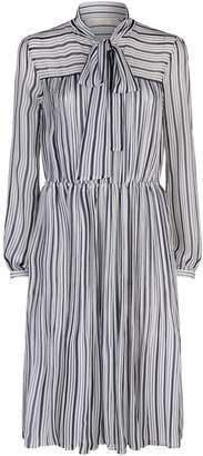 MICHAEL Michael Kors Carolina Stripe Bow Dress