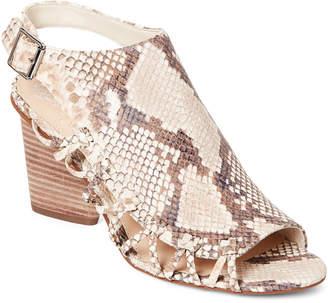 Vince Camuto Desert Sand Ankara Cutout Slingback Sandals