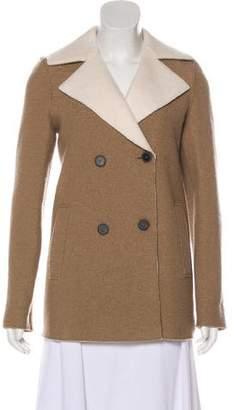 Harris Wharf London Virgin Wool Double-Breasted Coat
