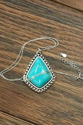 Wild Lilies Jewelry Turquoise Pendant Necklace