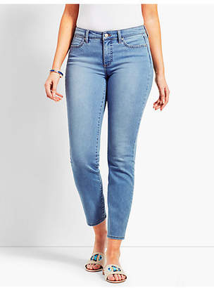 Talbots Denim Slim Ankle Jean - Curvy Fit/Beach Glass