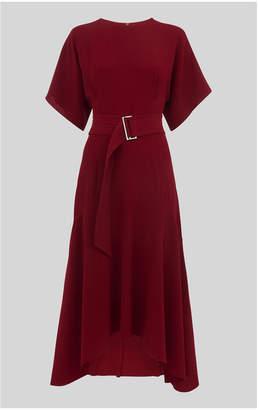 Whistles Burgundy Dress - ShopStyle UK e1113eedd