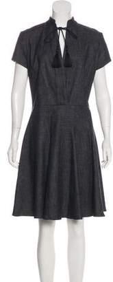 Derek Lam Knee-Length Denim Dress