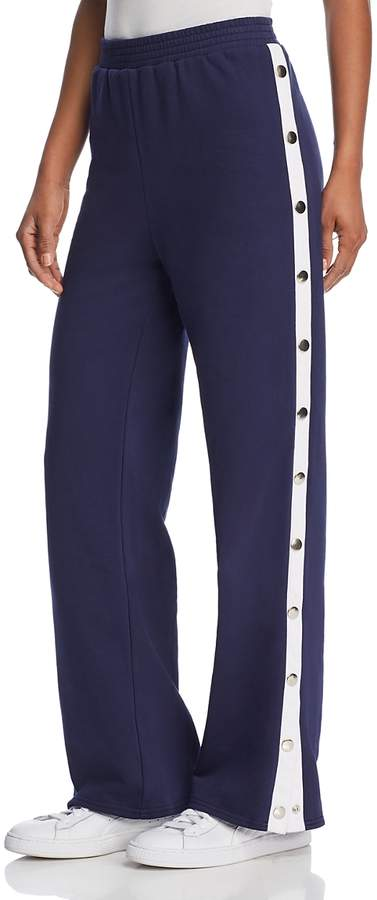 Side-Snap Track Pants