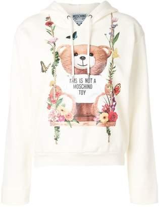 Moschino printed hoodie