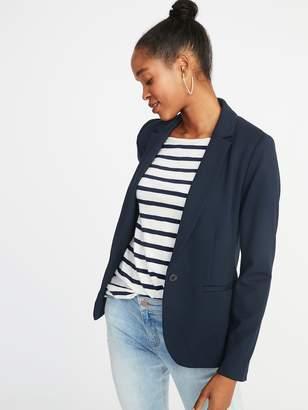 Old Navy Classic Ponte-Knit Blazer for Women