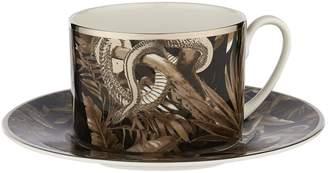 Roberto Cavalli Home Tropical Jungle Coffee Cup & Saucer