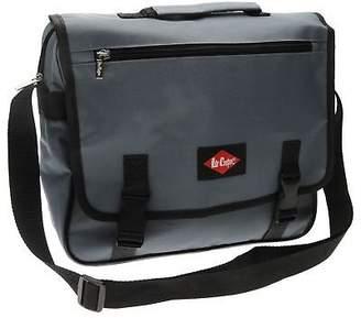 Lee Cooper Unisex Messenger Bag Zip Sport Clip Fastening