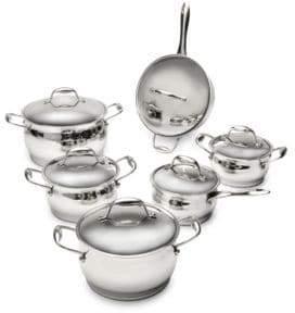Berghoff Zeno 12-Piece Stainless Steel Cookware Set