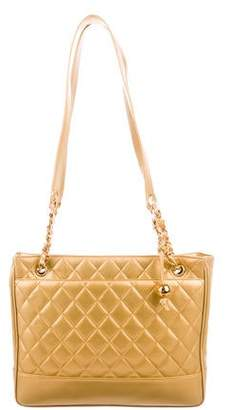 Chanel Quilted Shopper