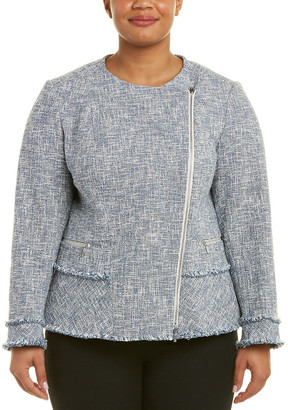 Lafayette 148 New York Plus Owen Jacket