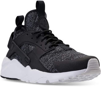 Nike Men's Air Huarache Ultra Breathe Casual Sneakers from Finish Line $130 thestylecure.com