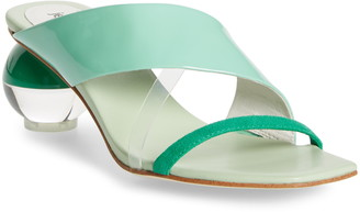 Jeffrey Campbell Laterall Ball Heel Slide Sandal