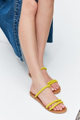 Urban Outfitters Rope Strap Slide $39 thestylecure.com