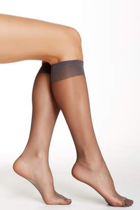 Shimera Knee High Sheer Socks - Pack of 2