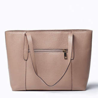 NEW Oso Large Leather Tote Bag in Stone Women's by VIVER Leather