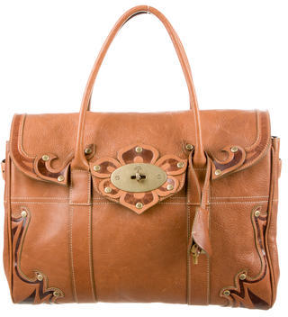 Mulberry Embellished Bayswater Bag $595 thestylecure.com