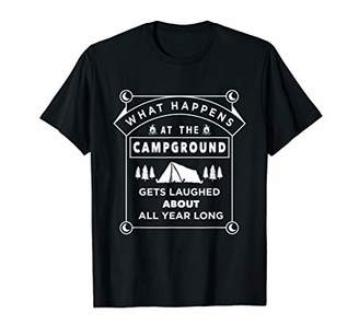 Cute Hiking Camping Trip Graphic Gift For campground Lovers T-Shirt