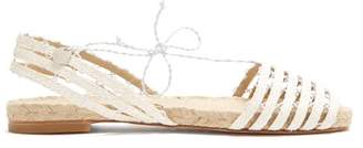 Ball Pagès Ball Pages - Calada Hemp Slingback Espadrilles - Womens - White
