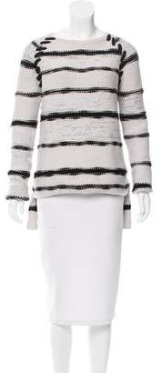 Baja East Striped Cashmere Sweater w/ Tags