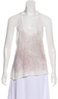 Proenza Schouler Sleeveless Printed Top