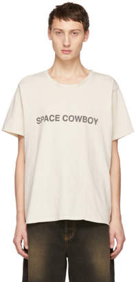 Rhude White Space Cowboy T-Shirt