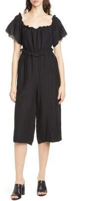 Joie (ジョア) - Joie Alvera Crop Linen Jumpsuit