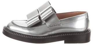 Marni Leather Bow Loafers
