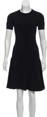 Alexander Wang Short Sleeve A-Line Dress
