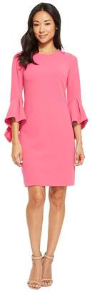 Calvin Klein Shift Dress with Dramatic Sleeve CD8C12JE Women's Dress