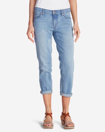 Eddie BauerWomen's Elysian Boyfriend Slim Crop Jeans