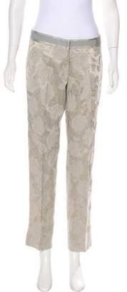 Dolce & Gabbana Brocade Mid-Rise Pants w/ Tags