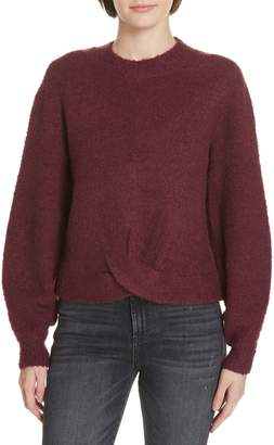 Joie Stavan Metallic Detail Crewneck Sweater