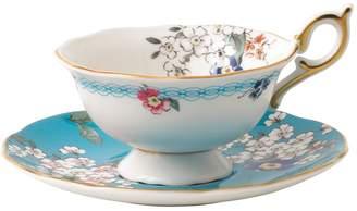 Wedgwood Wonderlust Apple Blossom Teacup and Saucer