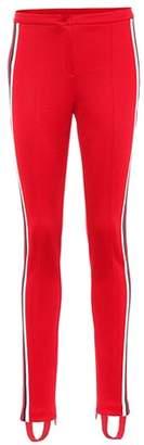Gucci Striped stirrup trousers