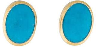Gurhan Turquoise Earclip Earrings