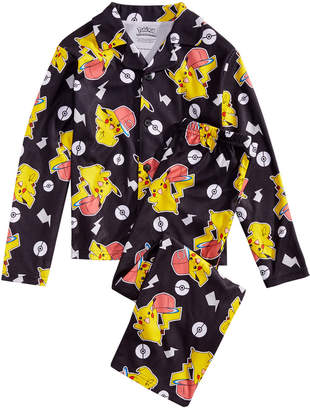Pokemon Ame 2-Pc. Big Boys Pajama Set