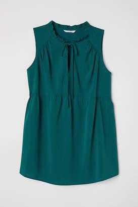 H&M MAMA Sleeveless Blouse - Turquoise