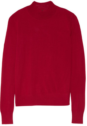 Theory - Sallie Merino Wool Sweater - Red $200 thestylecure.com