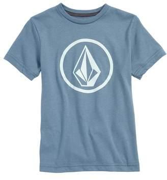 Volcom Circle Stone Logo Graphic T-Shirt
