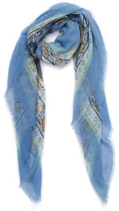 Collection 18 Batink Medallion Square Scarf