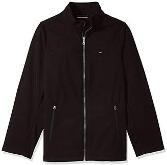 Tommy Hilfiger Men's Size Soft-Shell Classic Zip-Front Jacket