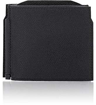 Valextra Men's Tri-Fold Money Clip Billfold