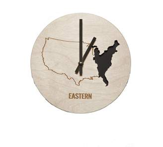 Wilson Reed Design Eastern Time Zone Wall Clock