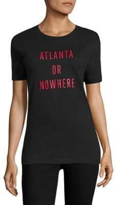 Knowlita Atlanta Or Nowhere Cotton Graphic Tee