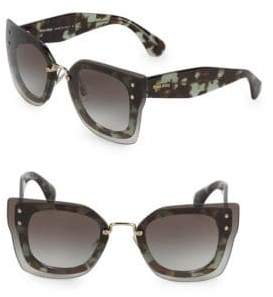 Miu Miu 67MM Squared Cateye Sunglasses