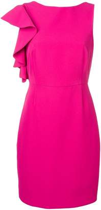 Blugirl short one-shoulder dress