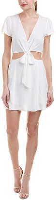 Cotton Candy Cutout Shift Dress