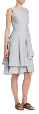 Brunello Cucinelli Tiered Cotton Dress
