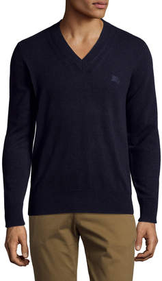 Burberry Men's Cashmere V-neck Sweater